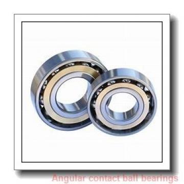 20 mm x 52 mm x 15 mm  NACHI 7304BDB angular contact ball bearings