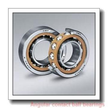 85 mm x 130 mm x 22 mm  NSK 85BER10X angular contact ball bearings