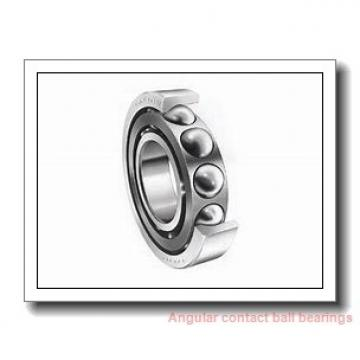 12 mm x 24 mm x 6 mm  NSK 12BGR19X angular contact ball bearings