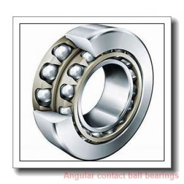 190 mm x 400 mm x 78 mm  NACHI 7338DT angular contact ball bearings