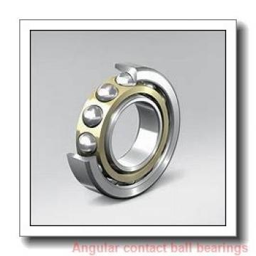 100 mm x 140 mm x 24 mm  NSK 100BER29SV1V angular contact ball bearings