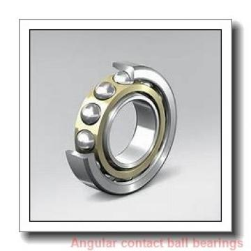 75 mm x 130 mm x 25 mm  NTN 7215DT angular contact ball bearings