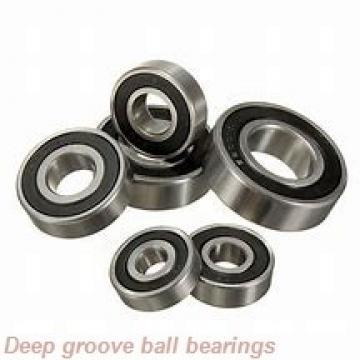 90 mm x 115 mm x 13 mm  NACHI 6818ZNR deep groove ball bearings