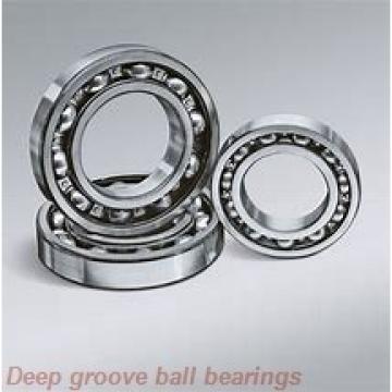 5 mm x 10 mm x 4 mm  ZEN MF105-2RS deep groove ball bearings