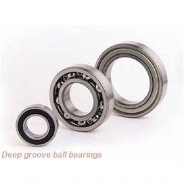 20 mm x 52 mm x 15 mm  KOYO 6304-2RS deep groove ball bearings