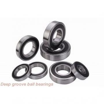 105 mm x 190 mm x 36 mm  NACHI 6221 deep groove ball bearings