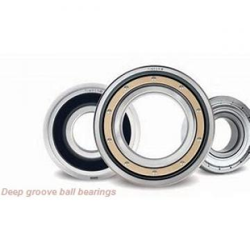 12 mm x 28 mm x 8 mm  SKF W 6001-2RZ deep groove ball bearings